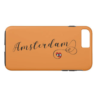 Heart Amsterdam Cell Phone Case, Holland iPhone 8 Plus/7 Plus Case