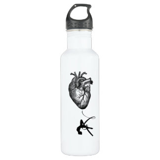 Heart Anatomy - Aerial Acrobat 710 Ml Water Bottle