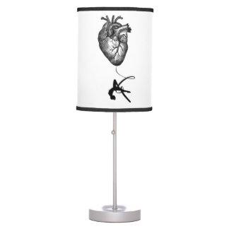 Heart Anatomy - Aerial Acrobat Table Lamp