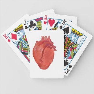Heart Anatomy design Bicycle Playing Cards