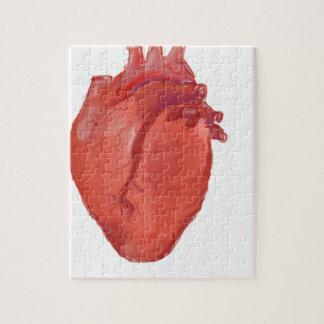 Heart Anatomy design Jigsaw Puzzle