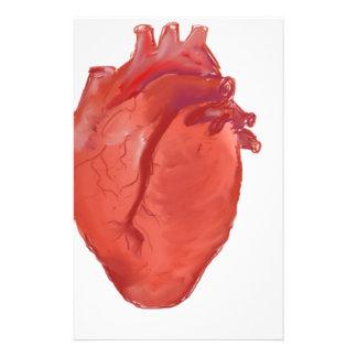 Heart Anatomy design Stationery