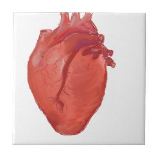 Heart Anatomy design Tile
