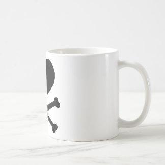 Heart and Cross Bones Coffee Mug