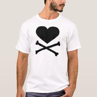 Heart and Cross Bones T-Shirt