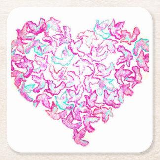 Heart and Dove Coaster