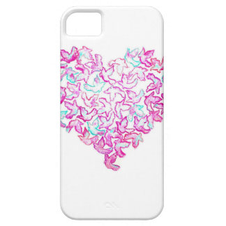 Heart and Dove iPhone SE/5/5S Case