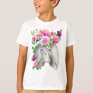 Heart  and flowers vintage design T-Shirt