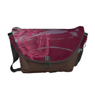 Heart and Head Messenger Bags