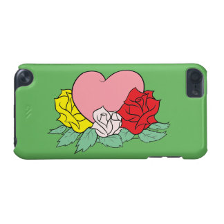 Heart and Roses iPod Touch 5G Cases