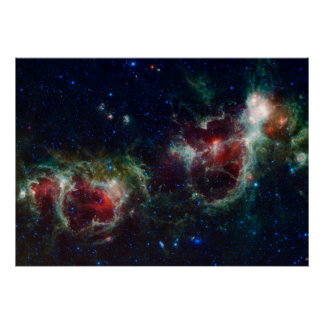 Heart and Soul Nebula Poster