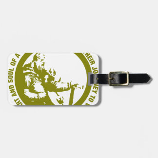 Heart And Soul Of A Viking Is Fearless - Valhalla Bag Tag