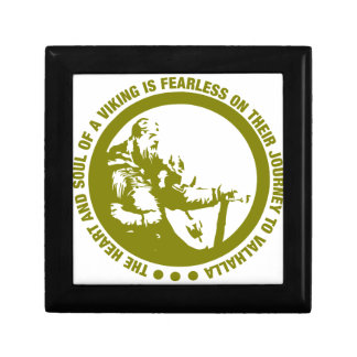 Heart And Soul Of A Viking Is Fearless - Valhalla Gift Box
