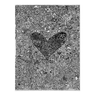"""""""Heart and Symbols"""" LARGE Poster"""