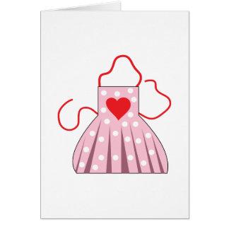 Heart Apron Card