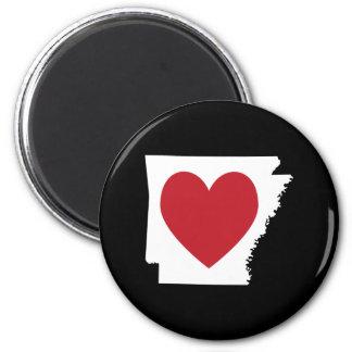 Heart Arkansas Magnet
