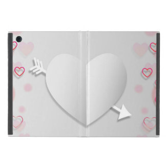 Heart & Arrow iPad Mini Case with No Kickstand