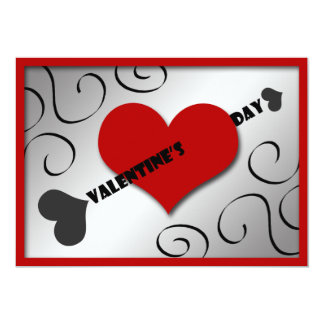 Heart & Arrow Valentine's Day Party Invitations