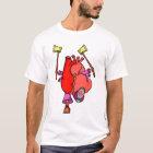 Heart Attack Funny Surreal Cartoon T-Shirt