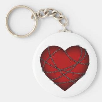 Heart Attack Keychain