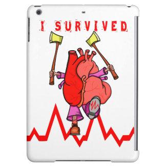 Heart attack survivor Funny Cartoon iPad Air Case