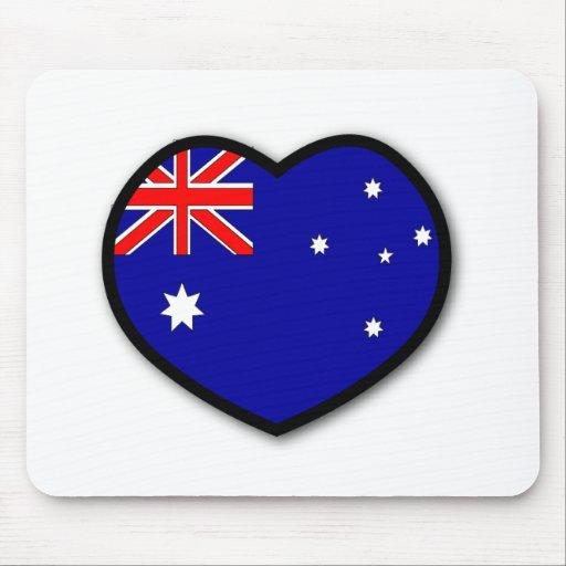 Heart Australia Mousepad