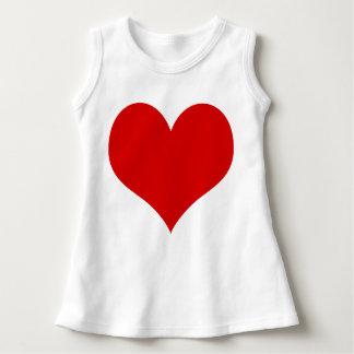 heart baby dress