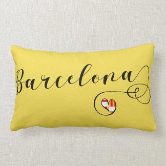 Heart Barcelona Pillow, Catalan Lumbar Pillow