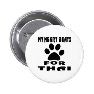 Heart Beat For THAI 2 Inch Round Button