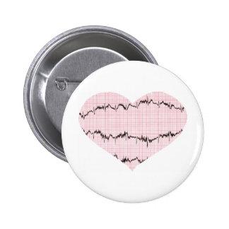 Heart Beat I Pin