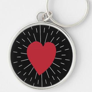Heart Beat Keychain