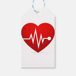 Heart Beat Rate Gift Tags