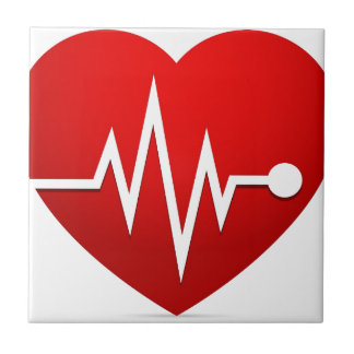 Heart Beat Rate Tile