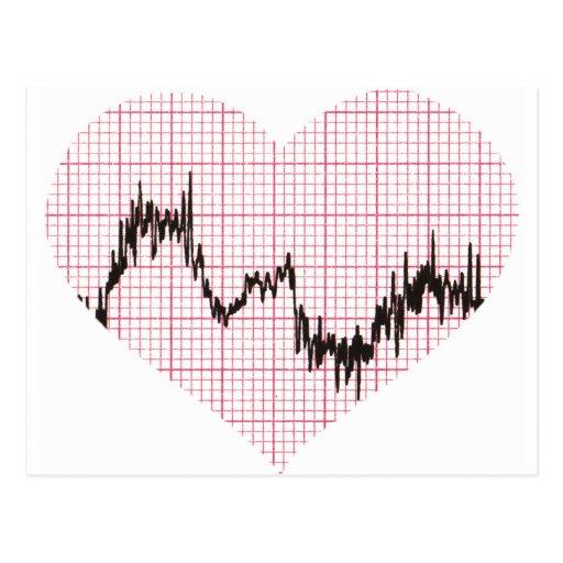 Heart Beat VIII Post Cards