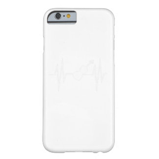 Heart Beat Violin Music Player Gift Shirt Barely There iPhone 6 Case