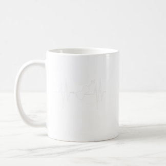 Heart Beat Violin Music Player Gift Shirt Coffee Mug