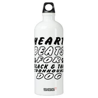 Heart Beats For Black & Tan Coonhound SIGG Traveler 1.0L Water Bottle