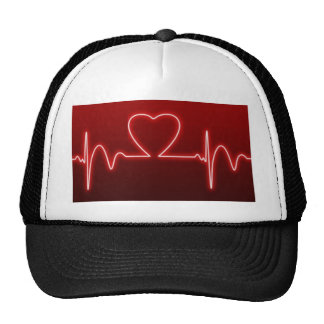 Heart beats for you trucker hat