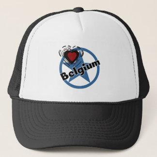 Heart Belgium Trucker Hat