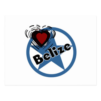 Heart Belize Postcard