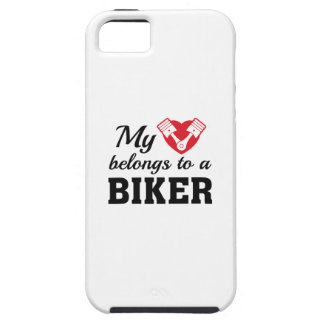 Heart Belongs Biker iPhone 5 Case