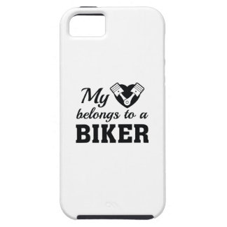 Heart Belongs Biker iPhone 5 Cases