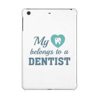 Heart Belongs Dentist iPad Mini Covers