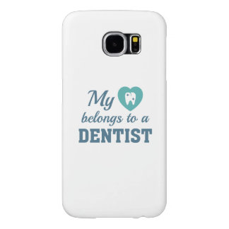 Heart Belongs Dentist Samsung Galaxy S6 Cases