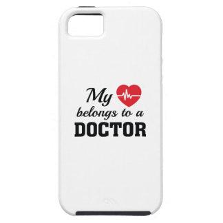 Heart Belongs Doctor iPhone 5 Cover