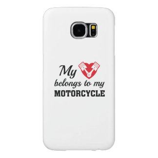 Heart Belongs Motorcycle Samsung Galaxy S6 Cases