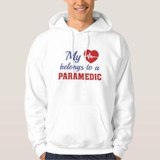 Heart Belongs Paramedic Hoodie