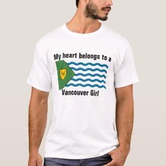 Heart belongs to a Vancouver Girl T-Shirt