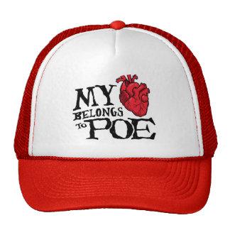 Heart Belongs to Poe Hat