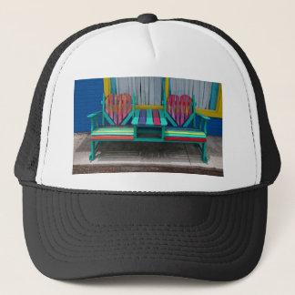 Heart Bench Trucker Hat